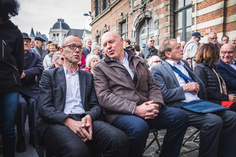 Filip Watteeuw en Sas van Rouveroij.