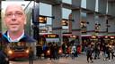 Sooi van Weegberg. Op de achtergrond bussen van busstation Den Bosch.