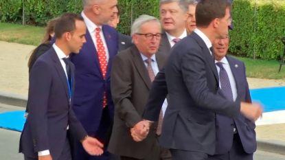 """Juncker werkt voort, ondanks """"gezondheidsproblemen"""""""