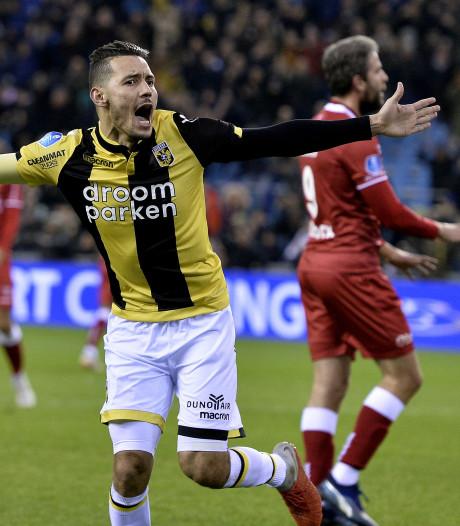 Darfalou bevrijdt Vitesse van stug VVV