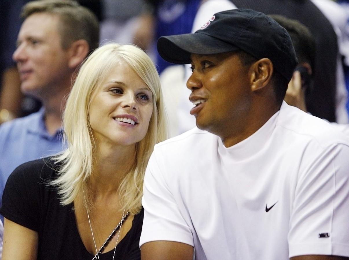 Elin Nordegren et Tiger Woods en 2009.