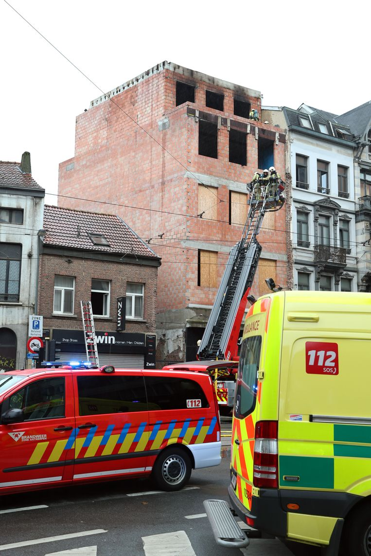 Brand in de Carnotstraat.