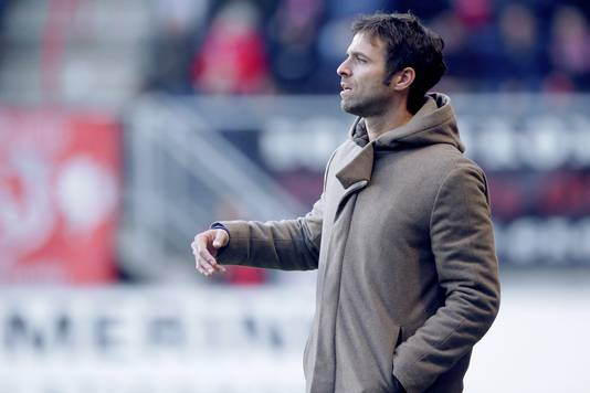 FC Twente-trainer Gonzalo Garcia.