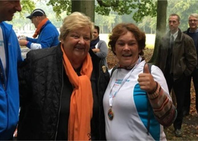 Onder anderen Erica Terpstra was erbij op Paleis Het Loo.