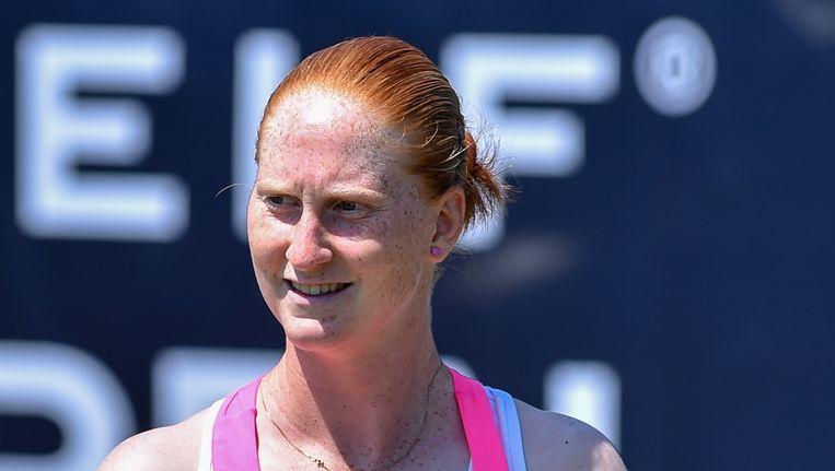 Alison Van Uytvanck blijft de beste Belgische.