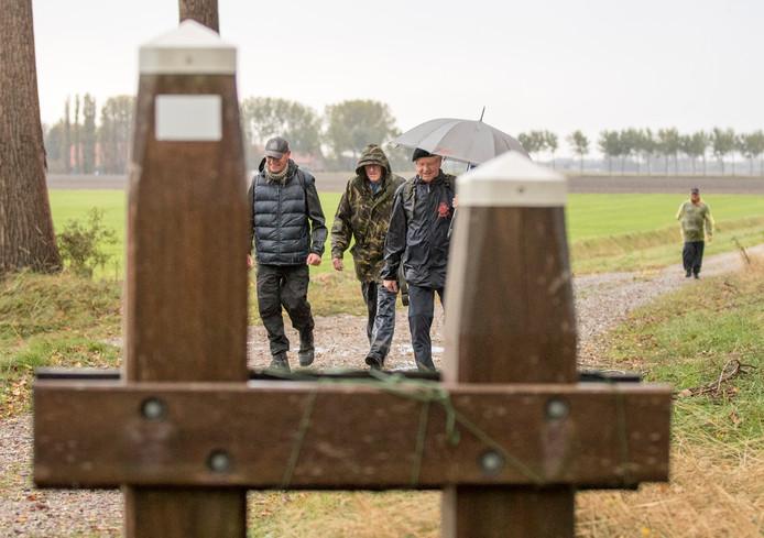 Een van de onderdelen van de jaarlijkse herdenking van de Slag om de Schelde is de Mallardmars