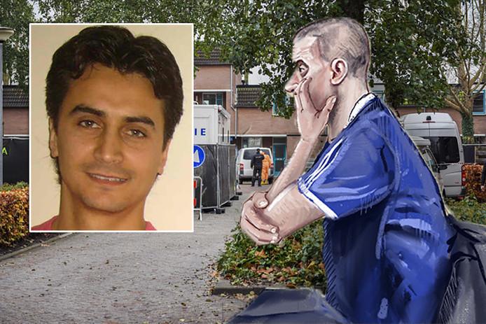 Matthias M. gaat in beroep tegen zijn veroordeling voor het doden van Halil Erol (inzetje) uit Steenwijk.