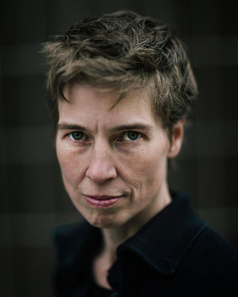 Mayke Nas (45), componist des vaderlands Beeld Marc Driessen