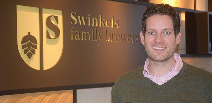 Damian Bott bij zijn vorige werkgever, sinds begin dit jaar is hij in dienst van PSV als manager marketing en media.