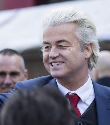 Wilders wacht uitslag verkiezingen af in Terneuzen