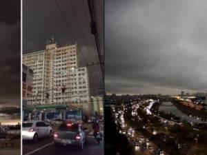 Les incendies en Amazonie plongent São Paulo dans l'obscurité en plein jour