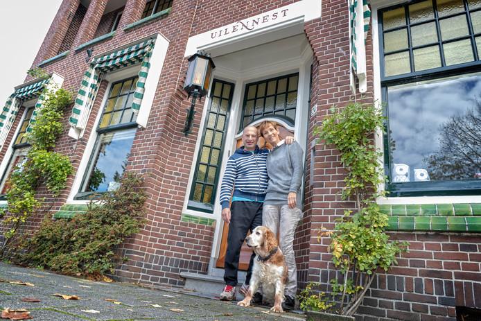 Anja Huussen is trots op haar monumentale villa in Alphen.