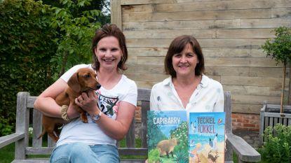 Speelse teckel Tokkel inspireert Ilse tot nieuw jeugdboek