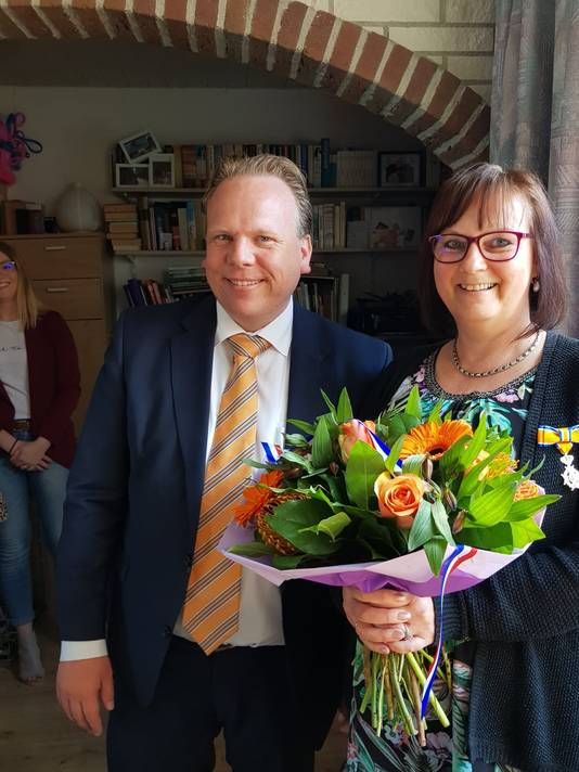 Dianne Wervers-van der Burgh (52, Moerdijk) - Lid in de Orde van Oranje-Nassau