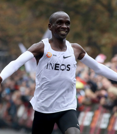 Kipchoge mikt op marathon op Olympische Spelen, mits hij kans krijgt