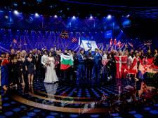 Songfestivalinzendingen eerder te zien in Amsterdam dan in Rotterdam