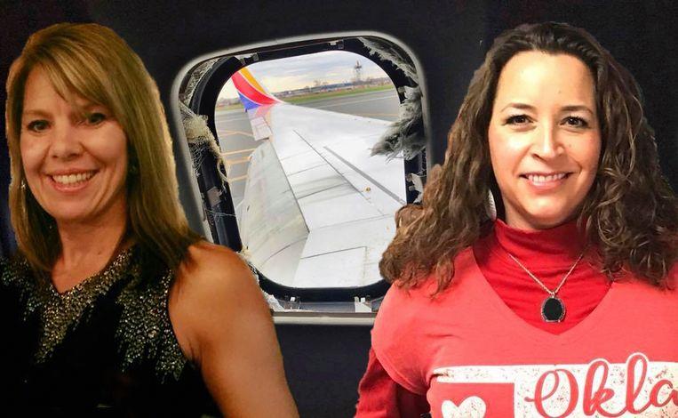 Slachtoffer Jennifer Riordan (links) en Hollie Mackey die haar nog probeerde te redden.