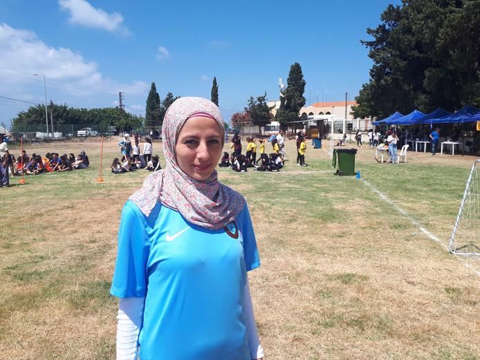 Bassima al Rida (30) uit Libanon.