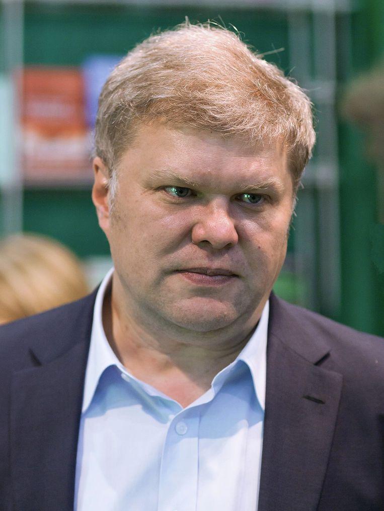 Oppositiekandidaat Sergei Mitrochin.
