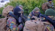 Soldaten verdrijven milities uit Waasland