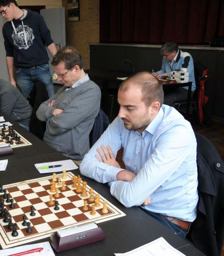 Vijfde keer op rij tweede plaats voor schakers Het Witte Paard