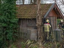 Schuurtje in brand in Oud-Vossemeer