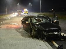 Bestuurder (74) gecrashte auto overleden