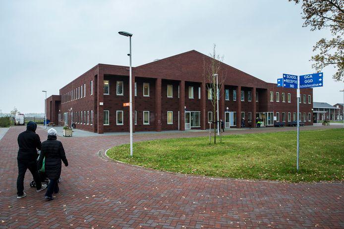 Sfeerbeeld van het asielzoekerscentrum in Ter Apel