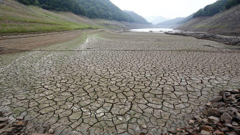 Ook in Zuid-Korea kampt men met extreme droogte.
