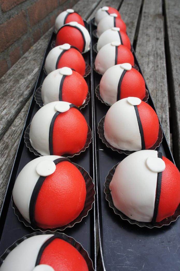 De Pokéballen kunnen worden opgegeten.