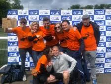 Missie geslaagd, Vincent (42 jaar en 195 dagen oud) loopt marathon uit in Edinburgh