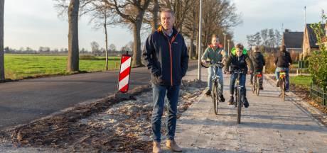 Punthorst blij met fietspad tussen Staphorst en Nieuwleusen: 'eindelijk gebeurt er wat'