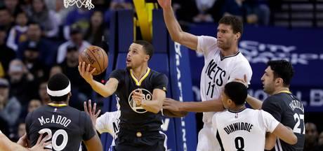 VIDEO: Warriors als eerste team naar play-offs NBA