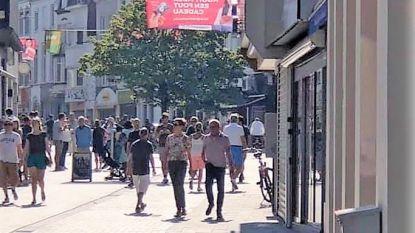 Nu al over de koppen lopen in Lange Steenstraat: stad werkt actieplan uit om vanaf 11 mei alles vlot te laten verlopen