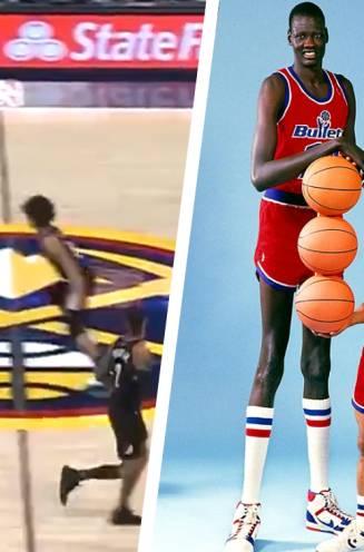Amper 21, wel 2 meter 18 groot en zoon van legendarische vader: alleskunner Bol Bol beroert in voorbereiding NBA-seizoen