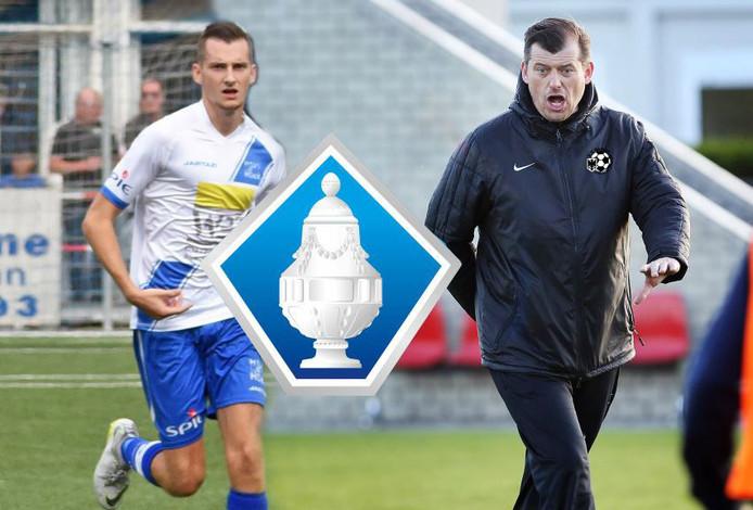 Gianni Tiebosch treft woensdagavond met Hoek het Gemert van Reinald Boeren, zijn voormalige trainer.