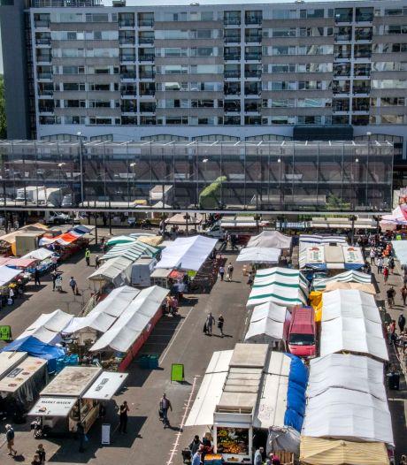 Weekmarkt in het gedrang door verbouwing Stadswinkel en aanleg Stadsforum