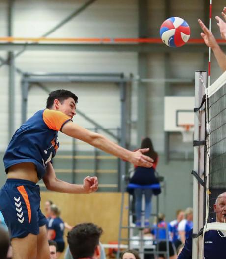 Volleyballers Bovo naar eerste divisie