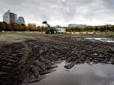 Boeren willen schade op Malieveld herstellen