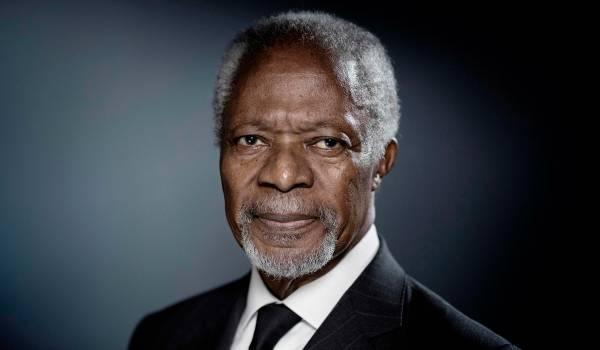 Kofi Annan (1938-2018): Een seculiere paus, gerespecteerd, maar wel met krasjes