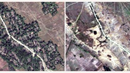 """""""Myanmar verwoest tientallen dorpen van gevluchte Rohingya"""""""