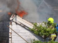Chalet door brand verwoest op camping De Rietschoof in Aalst