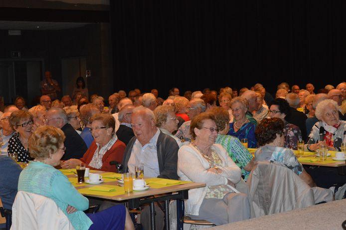 Een seniorenfeest voor er sprake was van corona. Ten vroegste in het najaar van 2021 zal er in Halle opnieuw een seniorenfeest kunnen plaatsvinden.