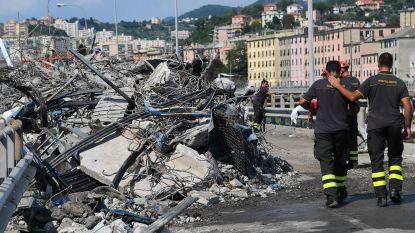 Nog zeker vijf mensen onder het puin in Genua, eerste slachtoffers al begraven