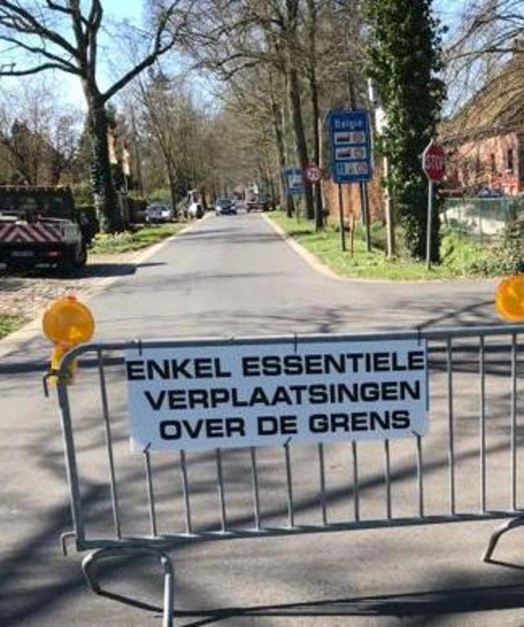 Ook in de grensgemeenten Essen, Kalmthout en Wuustwezel voeren ze de grenscontroles op.