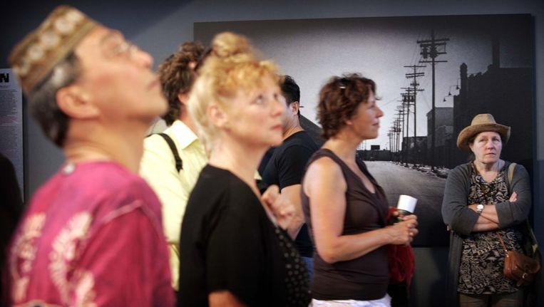 Bezoekers van Noorderlicht Beeld ANP