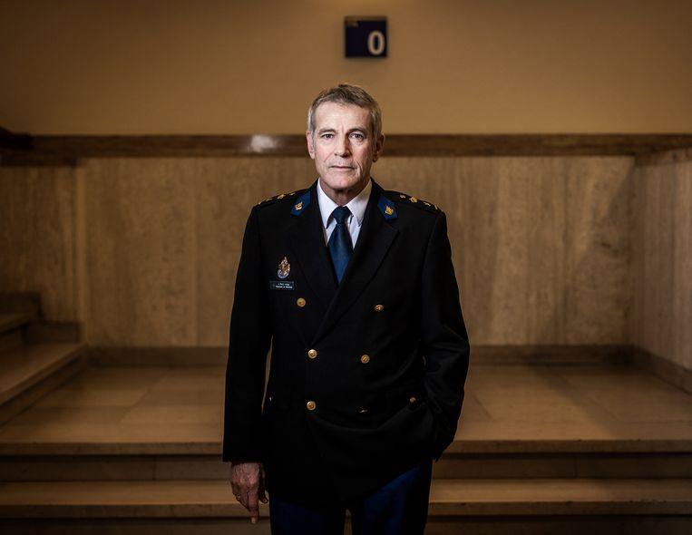 Leon Kuijs, scheidend directeur van de Politieacademie. Beeld Jiri Büller