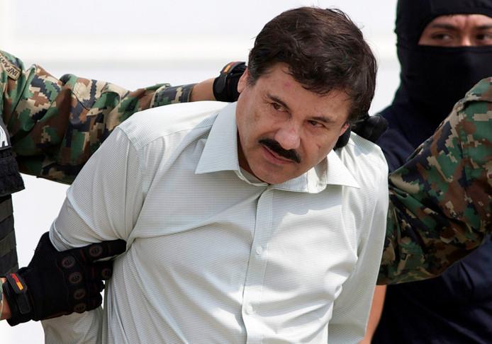 'El Chapo' zit een levenslange gevangenisstraf uit in New York.