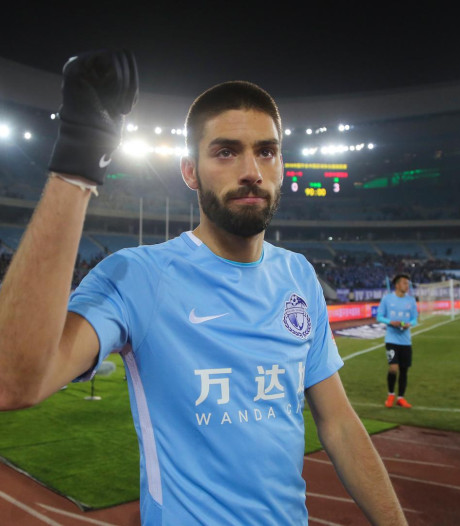 Le Dalian Yifang s'incline malgré un but de Carrasco