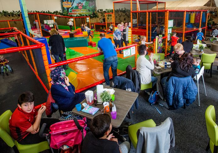 De Monkey Town in Apeldoorn in 2017. Eindhoven krijgt ook een vestiging van de indoorspeeltuin, halverwege volgend jaar.
